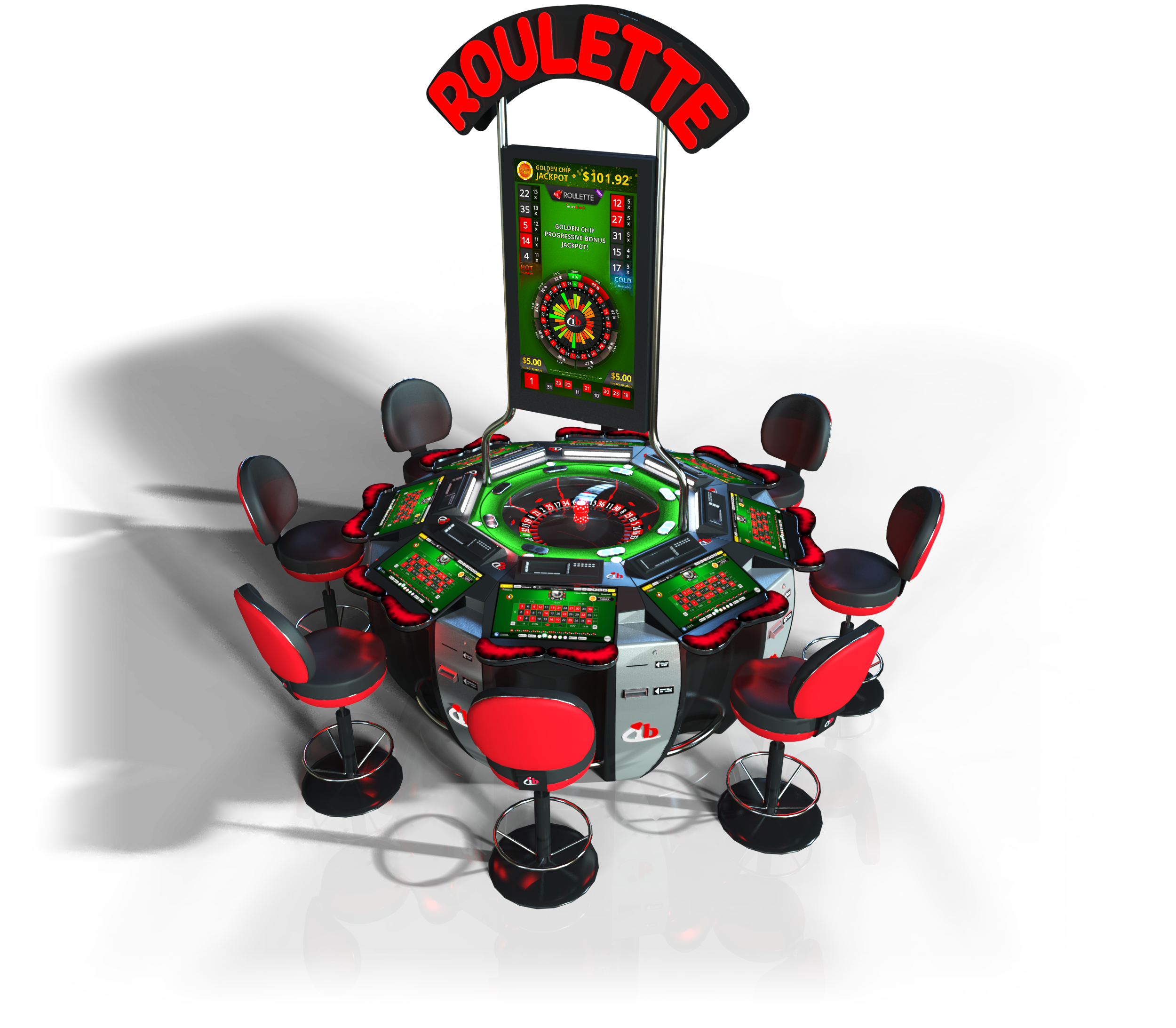 MiniStar Electronic Roulette | Interblock Electronic Table